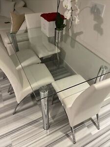 Beautiful elegant Dining Room glass table  $250.00