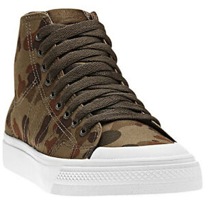 adidas Nizza Hi Top Classic 78 sneakers G95800 Camouflage Size 8.5 NEW