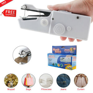Mini Portable Smart Electric Tailor Stitch Hand held Sewing Machine Tool Home $10.49