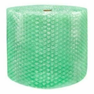1 2quot; SH Recycled Large Bubble Cushioning Wrap Padding Roll 125#x27; x 24quot; Wide 125FT $27.95
