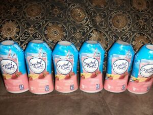 6x CRYSTAL LIGHT LIQUID WATER ENHANCER STRAWBERRY LEMONADE 1.62 OZ LOT OF 6 $22.50