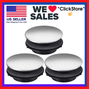 Sink Tap Hole Cover Kitchen Faucet Hole Cover 1.2 to 1.6 Inch in Diameter 3 Pack