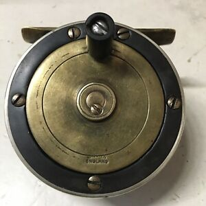 VINTAGE FLY REEL MARKED MADE IN ENGLAND