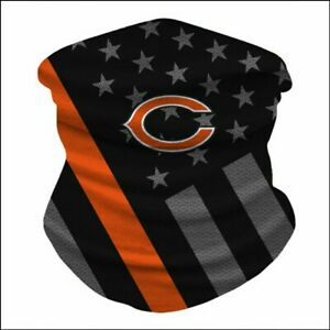 Chicago Bears Ice Silk Neck Gaiter Face Covering