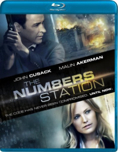 `CUSACKJOHN` NUMBERS STATION Blu Ray NEW $19.48