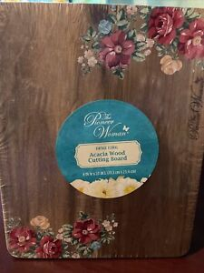 Pioneer Woman 8 x 10 Breezy Blossom Nonslip Reversible Cutting Board $10.00