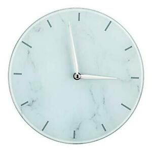 Wall Clocks Battery Operated 10 Inches Modern Decorative Wall Clock White $19.07