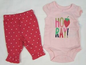 Baby girls clothes Carters 6 months 2 pc set new with tags $10.99