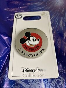 2021 Disney Parks Passholder Pin Mickey Mouse It's A Way Of Life AP Pin NEW $19.85