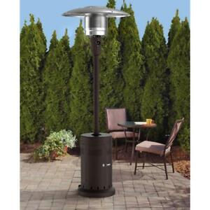 Mainstays Large Outdoor Patio Heater Powder Coat Mocha Brown Fast Shipping NEW $148.02