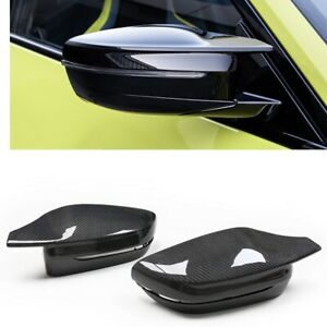 FOR 2017 20 BMW G30 G20 G22 M STYLE Devil CARBON FIBER REPLACEMENT MIRROR COVER $138.55