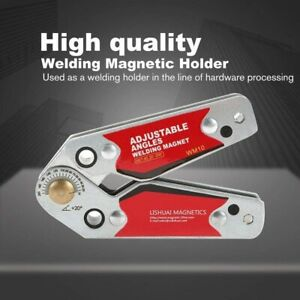 Magnetic Fixing Device of Adjustable Angle Magnet Welding Angle Clamp Positioner $35.28