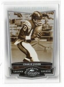 2008 Donruss Classics Tributes Silver #132 Charlie Joiner 100 CHARGERS $4.99