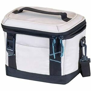 CleverMade Collapsible Soft Cooler Bag Tote Insulated 6 Can Leakproof Small