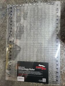 Creative Grids CGRGE1 Stripology Slotted Quilting Ruler Template D12 $59.99