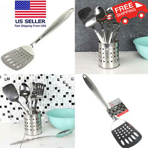 Stainless Steel Slotted Turner Spatula 13.5 inch $11.99