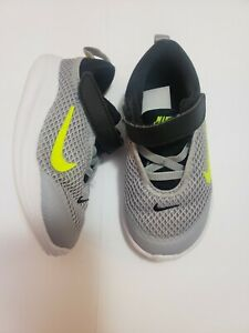 Nike Black Grey mesh Sneakers Toddler boys Size 7c 7 Gently used kids shoes Baby $29.99