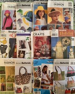 Sewing Patterns Simplicity McCalls and Butterick Uncut YOU PICK $7.99