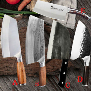 Hunters Serbian Forged Butcher Knives Meat Cleaver Chopping Kitchen Chef Knife $32.99