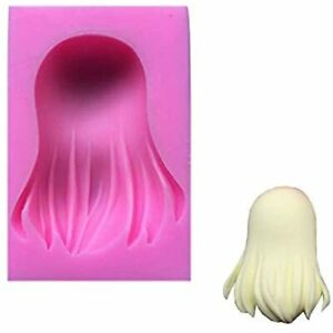 Doll Hair Shape Wedding Molds For Cake Decorating Silicone Fondant Cookie Soap