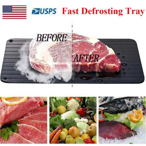 Fast Defrosting Tray Rapid Thawing Board Safe Defrost Meat Plate Fast Shipping
