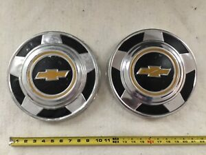 Vintage Chevy Truck Hubcaps 2 10 1 2�  Dog Dish Chevrolet $39.90