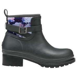 Muck Boot Liberty Ankle Rubber Womens Boots Ankle Low Heel 1 2quot; Grey Size $59.99