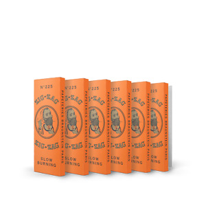 Zig Zag Rolling Papers French Orange 1 1 4 6 Booklets $8.49
