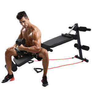 Sit Up Bench Decline Abdominal Home Gym Fitness Exercise Workout Equipment $68.58