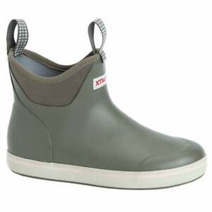 Xtratuf 6 Inch Waterproof Ankle Deck Womens Boots Ankle Grey $89.99