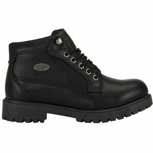Lugz Mantle Mid Chukka Womens Boots Ankle Low Heel 1 2quot; Black $44.99
