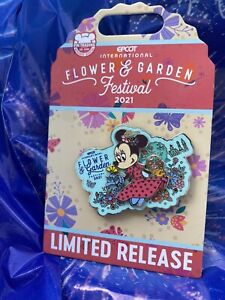2021 Disney Parks EPCOT Flower And Garden Minnie Mouse Pin NEW $24.40
