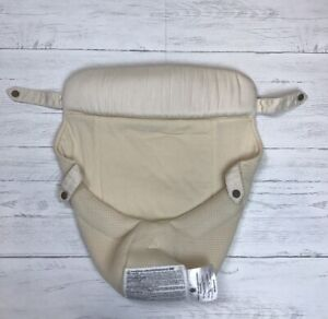 Ergo Baby Carrier Infant Snap Insert Without Bottom Lifter Ivory Color $14.99