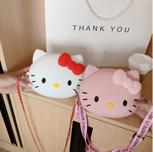 New Cute Hello Kitty bag Handbag Shoulder Bag Fashionable Cartoon Casual Bag