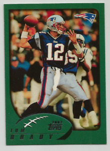2010 Topps Football Anniversary Reprints Tom Brady New England Patriots $4.75