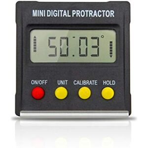 Mini Digital Protractor Angle Gauge Electronic Level Box Inclinometer 360 Degree $26.74