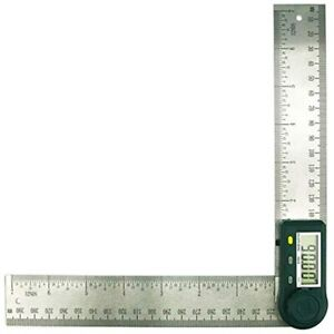 Digital Protractor Angle Finder Stainless Steel Ruler 200mm 7inch $18.88