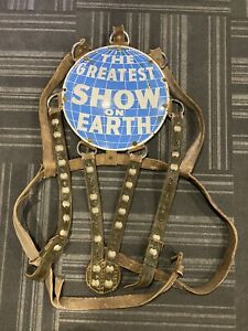 Ringling Brothers Barnum Bailey Elephant Headdress Crest Harness Circus $3200.00