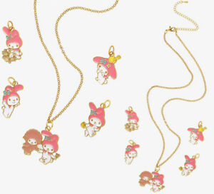 My Melody Interchangeable Charm Necklace with 5 Interchangeable My Melody Charms $17.99