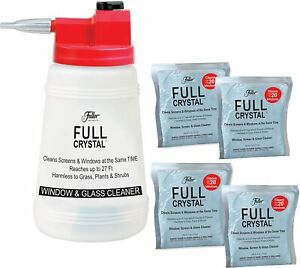 Full Crystal Kit Bottle Lid with Hose Attachment and 1 LB of Powder