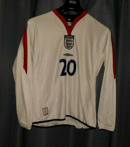 ENGLAND Umbro Football Shirt Women Player Issue Ladies Size 16 Long Sleeved 2004 GBP 19.95