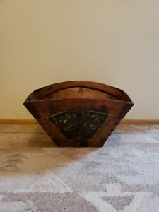 Antique Basket Metal with matal clips Vintage $120.00