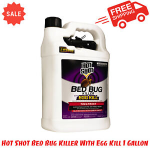 Hot Shot Bed Bug Killer With Egg Kill 1 Gallon Ready To Use Non Staining