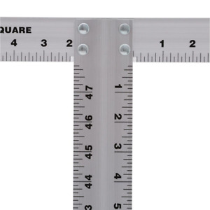 48 in. Aluminum Drywall T Square Measuring and Layout Hand Tools Workshop Home $18.99
