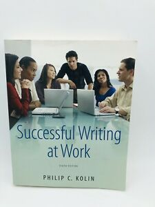 Successful Writing at Work 10th Edition in Good Condition