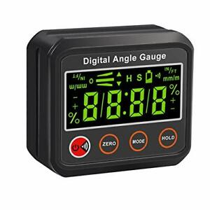 AUTOUTLET Digital Angle Finder Magnetic Protractor InclinometerLED Display4 $31.80