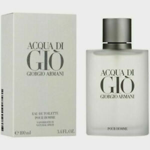 Giorgio Armani Acqua Di Gio 3.4oz 100ml Mens Eau de Toilette New $28.99