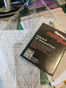 Creative grids quilting rulers $35.00