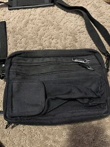 Tutto Sewing Messenger Small Bag Pouch Carry Or Use Strap 8 Pockets $30.00