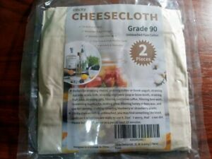 2 x Cheese Cloth**Cotton**beige**Strainer cheesecloth